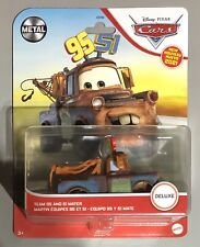 New for 2021 Disney Pixar Cars Team 95 and 51 Mater Deluxe Metal Series