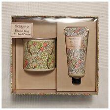 William Morris Enamel Mug And Hand Cream Set
