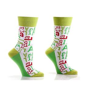 Women's Crew Socks by Yo Sox - Christmas - Fa La La