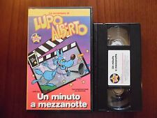 Lupo Alberto - Un minuto a mezzanotte - VHS ed. Stardust rara