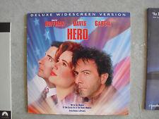 Hero Movie Laserdisc Dustin Hoffman Geena Davis
