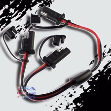 SAE Y-Adapter Waterproof Marine Motorcycle Tender Battery Plug Quick Disconnect