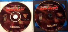 Command & Conquer: Red Alert (PC, 1996) Case, 2 Discs, # 15310