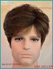 Emerson Men's Wig by Noriko  Color  Kahlua Blast  New Man Wig Men Authentic 2006