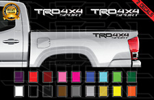 Trd 4x4 Sport Decals Set Toyota Tacoma Racing Truck Bed Vinyl Stickers 2016 2020