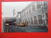 PHOTO  PERTH RAILWAY STATION EXTERIOR VIEW 1985