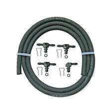 4 connecteurs retour injecteur Bosch + durite 1m TDCI-CDI-HDI-DCI-CDTI-CRDI-JTD