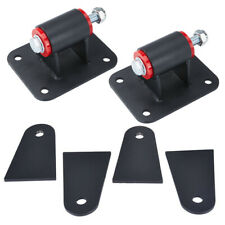For LS1 LS2 LS3 LS6 LS Engine Motor Mounts LS Conversion Swaps Black Universal