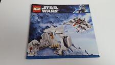 LEGO Star Wars!!! Istruzioni solo!!! 8089 Hoth Wampa Cave