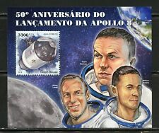 GUINEA BISSAU  2018 50th ANNIVERSARY OF THE LAUCH OF APOLLO 8  S/SHEET MINT NH