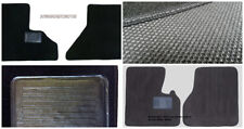 Peterbilt 379 -2PC Black- Custom Fit Carpet Floor Mats 1986-2005