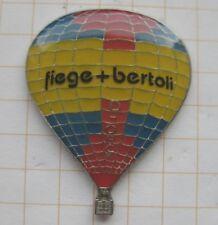 FIEGE + BERTOLI    .....................Ballon-Pin (180h)