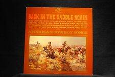 BACK IN THE SADDLE AGAIN-Various-Classic 2LP Cowboy Songs on Near Mt Vinyl LP