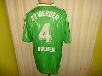 Werder Bremen Original Puma Amateur/Junioren Matchworn Trikot + Nr.4 Gr.M TOP