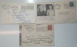 1943 - 1959 Canada Mixed x3 FDC