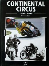 CONTINENTAL CIRCUS 1949-2000 ~ HB 1st ~ Motorcycle Racing English French German