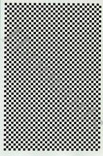 Microscale decals - 0.6cm Noir Echiquier msch142