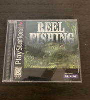Reel Fishing - PS1 - Complete - Manual - Fast Shipping!