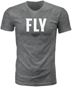 Fly Racing WFH Tee - Dark Grey Heather / XXL 2XL