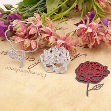 Rose Metal Cutting Dies Stencil Scrapbooking DIY Album Stamp Paper Embossing