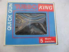 UNUSED QUICK GUN TURBO KING JOYSTICK/JOYPAD STILL IN BOX. 25 YEARS OLD.