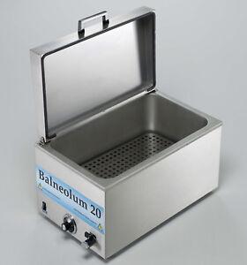 Erwärmungsgerät Wasserbad mit 2 Wärmeträgern 28*33 cm