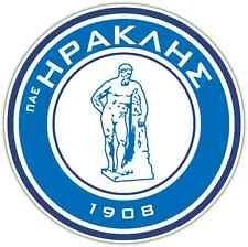 "Iraklis Thessaloniki FC Greece Football Soccer Bumper Sticker Decal 4.6""X4.6"""