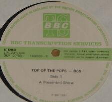 KIRSTY MacCOLL WHITESNAKE GILLAN DEPECHE ~ BBC TOP POPS TRANS DISC 869 LP 1981