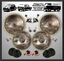 "Rover P5 7"" Main & 5 & 3/4"" Spot Halogen Conversion Sealed Beam Headlight Kit"