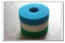 New Replacement Foam Filter Set Fits Hozelock Bioforce 4500 Lowest Price!