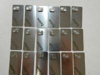 Carlson Register Pins Oblong Short Solna P/N 0400901 Package of 18