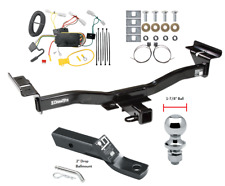 "Trailer Tow Hitch For 07-12 Mazda CX-7 Complete Package w/ Wiring & 1-7/8"" Ball"