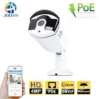 JOOAN Waterproof Out 4MP POE Security IP Camera Surveillance Night Vision CCTV