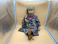 Sigikid Ilse Wippler Vinyl Puppe 62 cm. Top Zustand