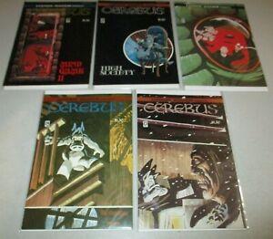 Cerebus #23-28 (Lot of 5) 23 24 25 26 28 Bronze Age 1980 1981 Dave Sim