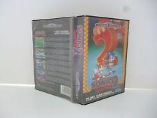 ☺ Jeux Mega Drive Sega Sonic 2 The Hedgehog Vendu Avec La Boite
