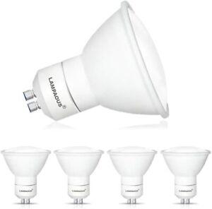 4x GU10 5W LED Light Bulbs Lamp Spotlight Downlight Cool White Bulb 6000k A++