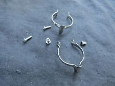 DURA-ACE BRAKE CABLE CLIPS STAINLESS BICYCLE BMX ROAD VINTAGE CLAMPS