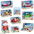 Peppa Pig Vacances Toys Ensemble De Jeux Figurines Voiture Bateau Avion Parlant
