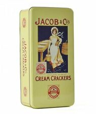 JACOBS CREAM CRACKERS Rectangular TIN Kitchen Storage ROBERT OPIE