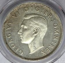 1937 Great Britain One Crown Silver Proof Coin - PCGS PR 65 - KM# 857
