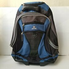 JEEP Authentic Rolling Travel Carry-on Luggage Backpack W/ Telescopic Handle