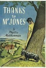 PHYLLIS MATTHEWMAN:-  Thanks To Mr Jones