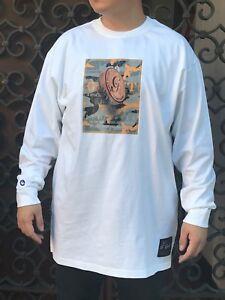 Men's G Unit Built To Last White Long Sleeve Tee Shirt