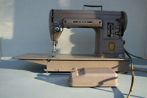Singer 301A Sewing Machine with pedal and case