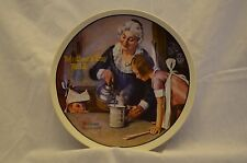 "Normal Rockwell collector's plate. ""Mother's Day 1982"""