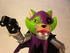 KRYPTO SUPERDOG cartoon Cyborg Cat action figure Mechanikat toy DC Comics 2004