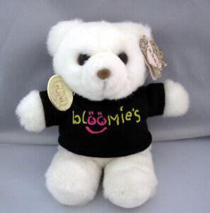 Rare Vintage GUND Bloomie's Bear Plush Stuffed Animal Shirt & Tag Bloomingdale's