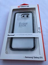 Griffin 3 Ft Drop Reveal Clear Back Bumper Hard Shell Case Samsung Galaxy S6