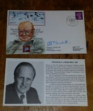 1990 AF1 SIGNED WINSTON S. CHURCHILL MP JUNIOR,